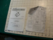 Sharp---xe-a101 Electronic Cash Register -----instructions---some Tearing,