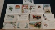15 Vintage New Years Postcards, Early 1900's