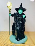 Franklin Mint The Wizard Of Oz Wicked Witch Of The West Figurine -see My Others