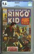 Ringo Kid 3 Cgc 9.6 White Pages // Second Highest Graded On Census