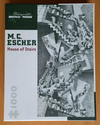 M.c. Escher House Of Stairs Pomegranate 1000 Piece Jigsaw Puzzle