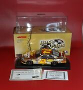 Rusty Wallace 2 Miller Genuine Draft Retro 24k Gold 2005 Charger Autographed