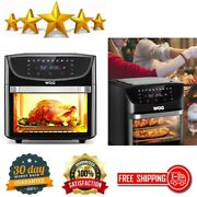 20 Qt Large Air Fryer Toaster Oven Combo 1800w Multi-functional Oilless Cooker