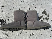 Uggs Bailey Bow Ii Size 6 Brand New No Box Grey Color Never Worn Double Bow