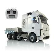 Rc 1/14 Lesu Metal Chassis Truck Hopper Sound Radio Hercules Actros Cab Tractor