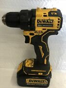 Dewalt Dcd708 20v Cordless Drill With Battery No Charger