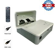 2500 Ansi Dlp Projector Ust For Game Console W/hdmi Xbox Apple Tv Fire Tv