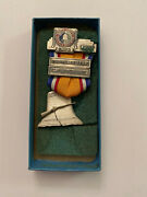 1976 North South Civil War Reenactment Carbine 2nd Place Medal Confederate Union