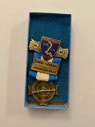 1983 North South Civil War Reenactment Rifle Musket 5th Medal Confederate Union