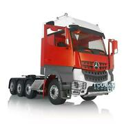 1/14 Lesu Rc Metal Chassis 3speed Hercules Painted Actros Benz Cab Tractor Truck