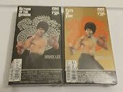Bruce Lee Vhs Lot Of 2 Sealed. Return Of The Dragon. Fists Of Fury. Fox.