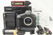 Canon Canon Eos-1dx Body Original Box Accessories Shot Number 155000 Or Less