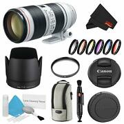 Canon Ef 70-200mm F/2.8l Is Iii Usm Lens Bundle W/uv Filter And Color Multicoate