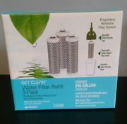 Shaklee Get Clean Water Filter Refill 3-pack Free Ship