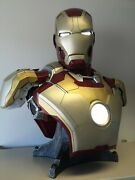 Sideshow Collectibles - Iron Man Mark 42 Life-size Bust 11