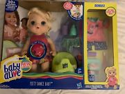 New Baby Alive Potty Dance Interactive Doll Great For Potty Training