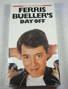 Ferris Bueller's Day Off 1992 Vhs Tape - Sealed Never Opened - Paramount Seal