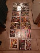 Valiant Chromium Flats And Uncut Covers X-o Ninjak Deathmate Dr Mirage Gold