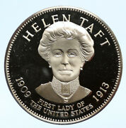 1972 Fm Us Usa White House First Lady Helen Taft Old Proof Silver Medal I95821