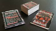 1996 Battletech Card Lot 100+ Cards First Game Guide Rule Book