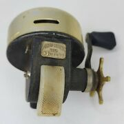 Garcia Abu-matic 140 Spincast Reel Made In Sweden Gold Cover