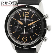 Bell And Ross Heritage Sports Heritage Brv126-st-her Srb Menand039s From Japan N0913