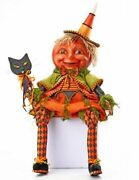 Katherineand039s Collection Halloween 2021 Pumpkin Doll Black Cat Mask 34andrdquo