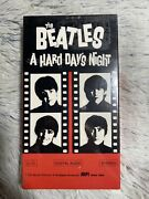 The Beatles A Hard Days Night New Sealed Vhs See The Rolling Stones