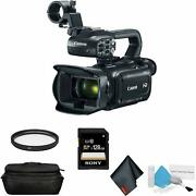 Canon Xa11 Compact Full Hd Camcorder +hdmi And Composite Output Bundle +