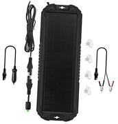Panel Car Battery Trickle Charger And Maintainer 5w 12v Solar 5w Trickle Charger