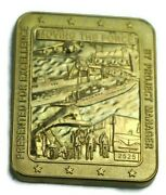 Kuwait Naval Base Kbr Logcap Iii Project Manager Excellence Coin Numbered