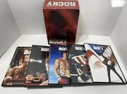 The Rocky Collection I-v Sylvester Stallone 5-disc Dvd Box Set Boxing