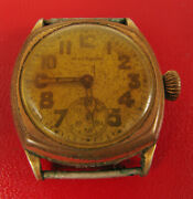 Antique Waltham Art Deco Watch Not Working For Parts Or Repair