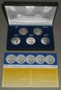 Million Dollar Morgan Collection 5 Silver Clad Proofs 1895 89-cc 84s 92s 93s