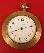 Antique Standard Art Deco Pocket Watch Not Working Selling As Is