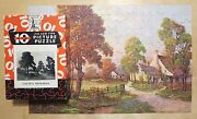 1930and039s Big Ten Picture Puzzle Golden Memories Harry Hadland Country Farm Fall