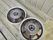 Yamaha Rd400 Mag Wheels Front And Rear With Brakes