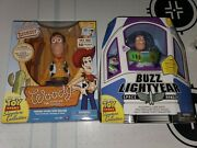 Toy Story Talking Sheriff Woody And Buzz Lightyear Lot Signature Collection
