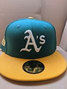 Oakland Athletics 1972 World Series Baseball Hat Fitted