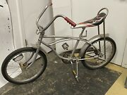 1970andrsquos Columbia Silver Fox Vintage Bicycle Muscle Bike