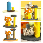 Sisal Rope Scratching Board Climbing Tree Play For Kitten And Small Cat
