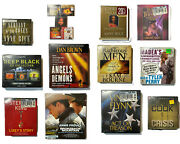 Lot Of 16 Audio Book Cd, Some Unopened, Some Abridged, Some Unabridged
