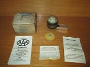 Vintage Aaa Liquid Auto Compass Dash Mount With Installation Directions