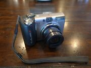 Canon Powershot A650 Is 12.1 Mp Digital Camera - Tested Works
