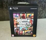 Grand Theft Auto V Gta 5 Collector's Edition Sony Ps3 Factory Sealed Pal Uk