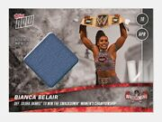 Bianca Belair Topps Now Relic Rookie /25 Wrestlemania Rare Sold Out Est