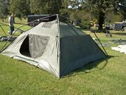 Military Surplus Soldier Crew Tent Army Self Standing Camping -10 X10 Army Camp