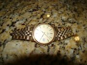 Rare Vintage Menand039s Omega Watch Wristwatch Day Date 1983 Texaco 30y Service Award