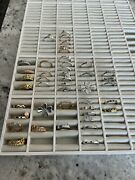 Lot Of 47 Pandora Rings All New Rose Gold Sterling Silver Cz Various Sizes