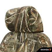 Realtree Max-5 Camo Custom Tailored Seat Covers And Dash Cover For Nissan Frontier